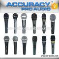 profissional karaoke portátil com fio microfone dinâmico