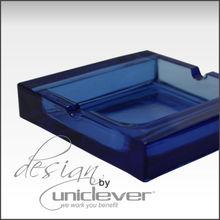 New Blue Glass Ashtray ,Outdoor Ashtray,Crystal Ashtray