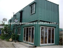 Prefabricated weld container house