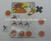newest advertising gift paper fridge magnet(WZ5244)