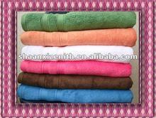 Jacquard bath color towels