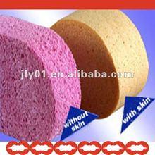 Natural cellulose puff