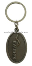 metal keychain/custom key ring metal without color