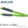 nuevo producto iónica eléctrica peine el cabello alisado