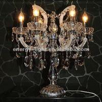 2014 Modern UL approval Crystal Chandelier Table Lamp/Lights