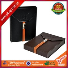 Customized cigar leather wraps boxes wholesale in Guangzhou