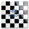 """48 * 48 mm ( 2 """" x 2 """" ) branco e preto misturado mosaico cerâmico telha de fábrica fornecedores"""