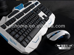 OEM wireless gaming keyboard and mouse 2 in 1 combo