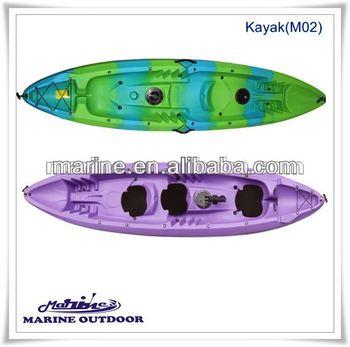 Double Sit On Top /Plastic Fishing Kayak