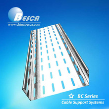 Galvanized C Type Cable Tray Made In China (UL, CE, NEMA, IEC, SGS, ISO9001-2008)