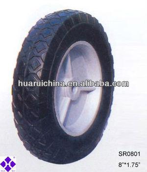 rubber solid wheel SR0801