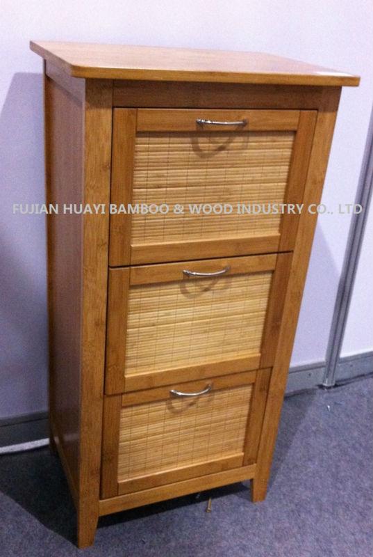 Bambu banyo depolama kabini( üretici)