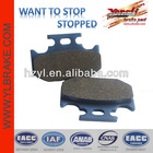 Quality motorcycle brake pads /chinese motorcycle brands