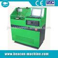 Bcs300 diesel inyector common rail banco de pruebas/de calibración de la máquina