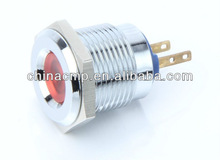 Export 16mm push button light switch, Pilot lamp(lower price fast delivery)