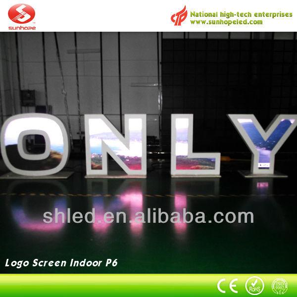 LED Display Manufactory P6 Indoor Epistar Chip LED Display Board Price