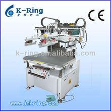 Semiautomatic flat screen printing machine for metal KRS6090
