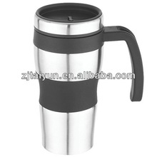2012 best popular double wall stainless steel travel mug