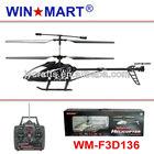 50cm medium size 3ch gyro rc helicopter