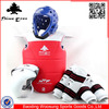 high quality sparring gear full set martial arts equipment, taekwondo protector