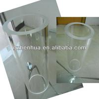 Cast acrylic pipe/pmma tube /plexiglass tube