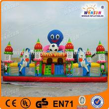 Popular TOP HOT Amusement Sport City Inflatable Castle Play Center