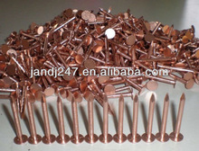 Copper roofing nails with factory price