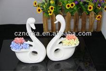 2012 Lovely ceramic goose vase ceramic