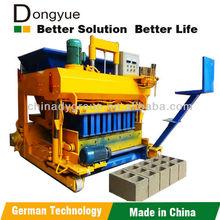 Hot sale QTM6-25 mobile brick making machine/egg laying cement brick making machine price in india