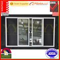 Pvc ventana corredera de aluminio de las ventanas y las puertas de cumplir con las normas australianas como/nzs2047 como/nzs2208