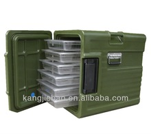Red color Thermal Insulation Cabinet.