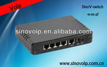 5-port Gigabit Layer 2 managed PoE+ Switch PS100GM