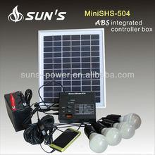 Home Solar kit / Solar Home kit / Solar Power kit 5W With ABS Controller Box