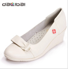 2013 new arrival most elegant comfortable air hole design women shoes for nurses/office lady