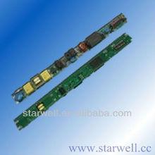 30-44V 480ma DC output led tube driver with 100-240V ac input 21W led tube driver
