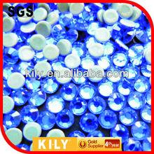 glass precious stones for garment accessory