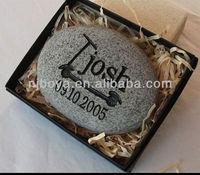 birth stone, carved stone
