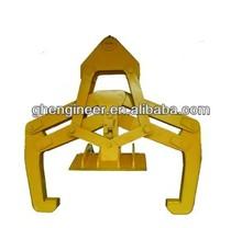 Mechanical horizontal coil clamp