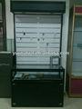 Personnalisé verre en bois étagère murale design avec tiroir type de bande