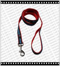 China wholesale nylon dog leash Custom heat transfer dog leash no minimum order L002