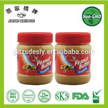 천연 땅콩 버터 높은 품질
