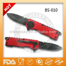Stainless steel gift folding knife pocket