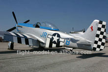 """Scare rc model P-51 Mustang 96"""" 80-100CC F0071 airplane toy"""