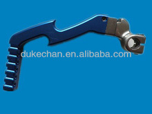 cnc machining part, motocycle starting lever