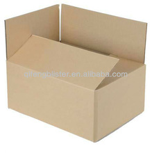 popular Wholesale Customized Strong plain Corrugated shipping Paper Carton Box