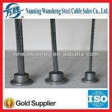 7/2.75mm Zinc Coated Steel Strand