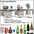 Pequena escala de uva de vinho linha de engarrafamento/máquinadeenchimento