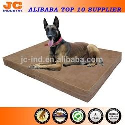 China Dog Bed Professional Orthopedic Luxury Memory Foam Dog Bed