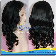 Hot!!! 2012 Hot sale grade AAAAA lace front wig 100% human hair