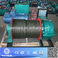 JM series with slow speed electric winch,5 ton electric winch